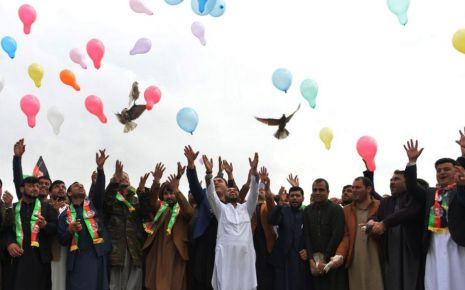 Afghans See Long Road To Peace Still,They Hope