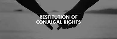 Hindu Marriage Act In Special Reference To Filling Of An Application For Restitution Of Conjugal Rights