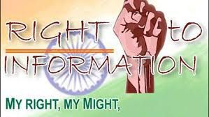Role of Legislation and Importance of Right to Information Act